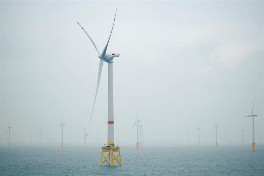 Testing… Alstom commissioned a prototype of its 6MW Haliade 150 turbine in Belgian waters last year