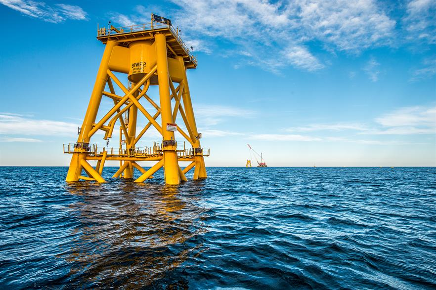 Construction at Deepwater Wind's 30MW Block Island site has been stopped until spring 2016