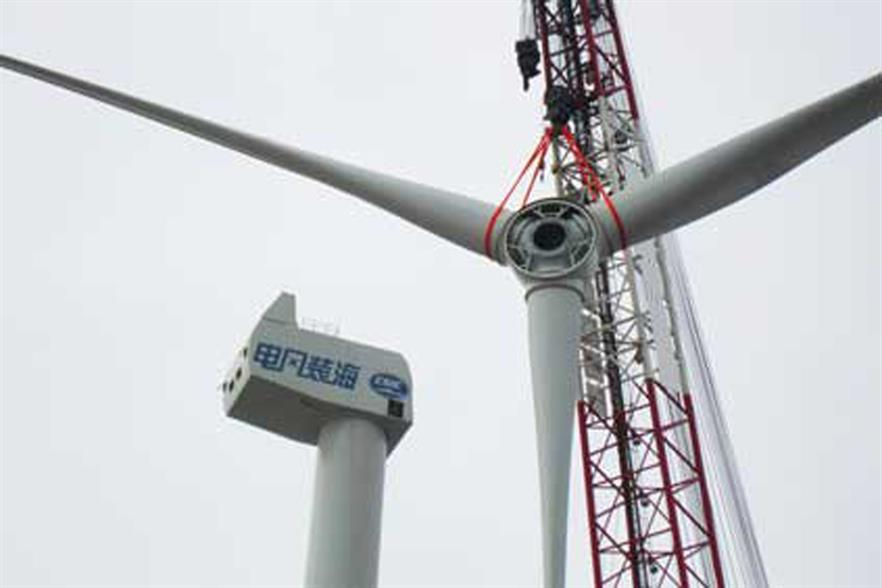 CSIC installed the 5MW prototype in 2012