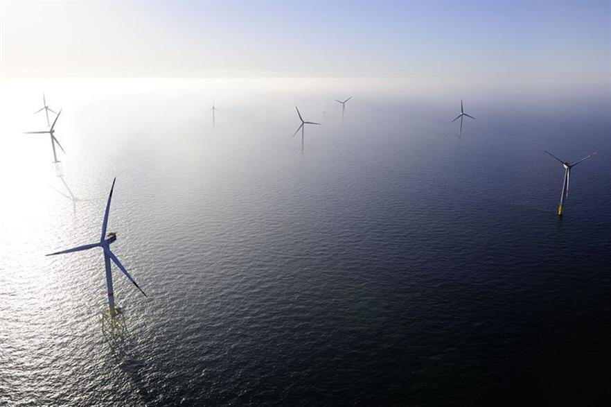 Alpha Ventus is Germany's first offshore wind project