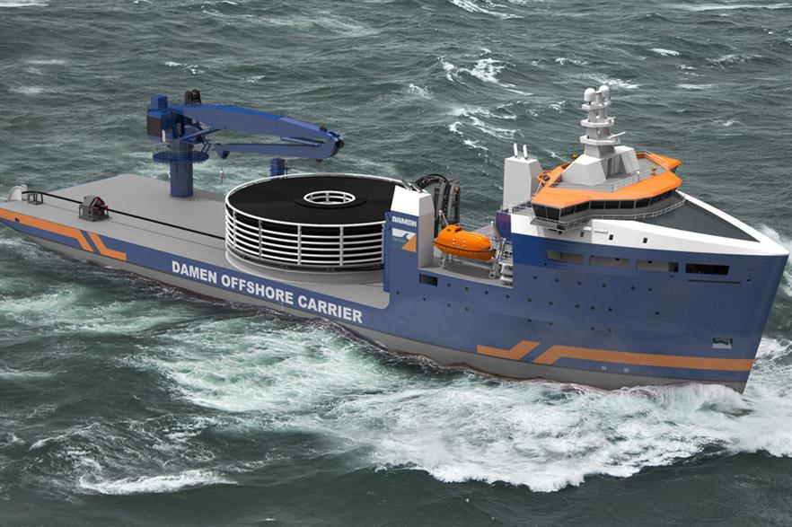 Damen Shipyards' cable laying vessel