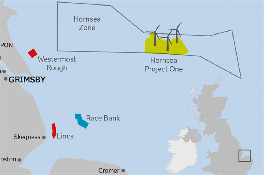 Dong's Hornsea Project One will become the world's largest offshore project when completed in 2020