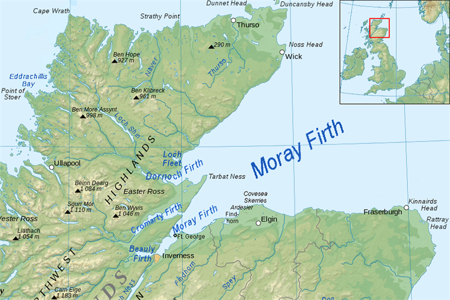 Chinese investment sought for EDPR's 1.1GW Moray Firth offshore project