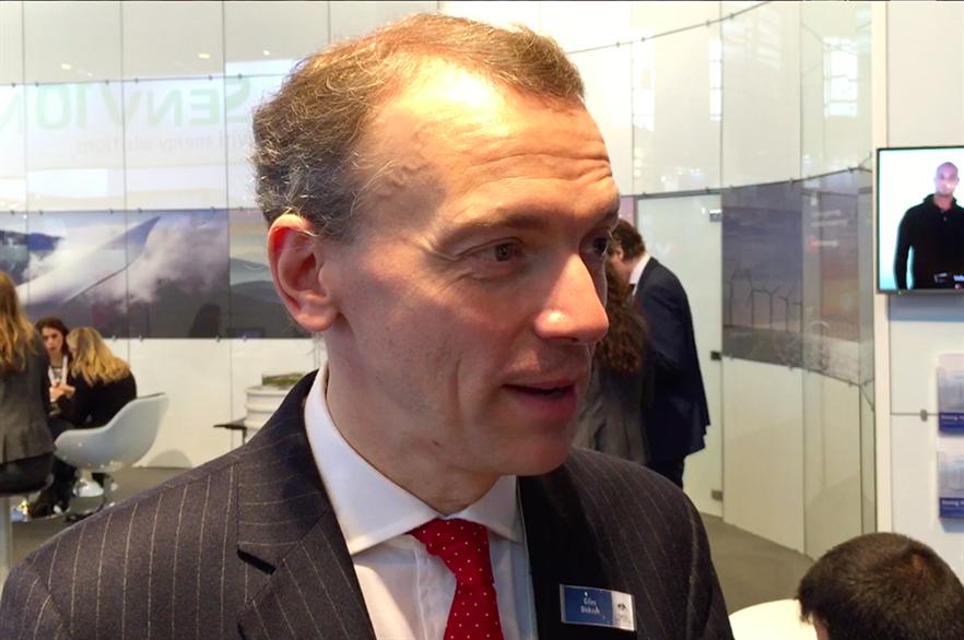 WindEurope CEO GIles Dickson speaks to Windpower Monthly in Paris, November 2015