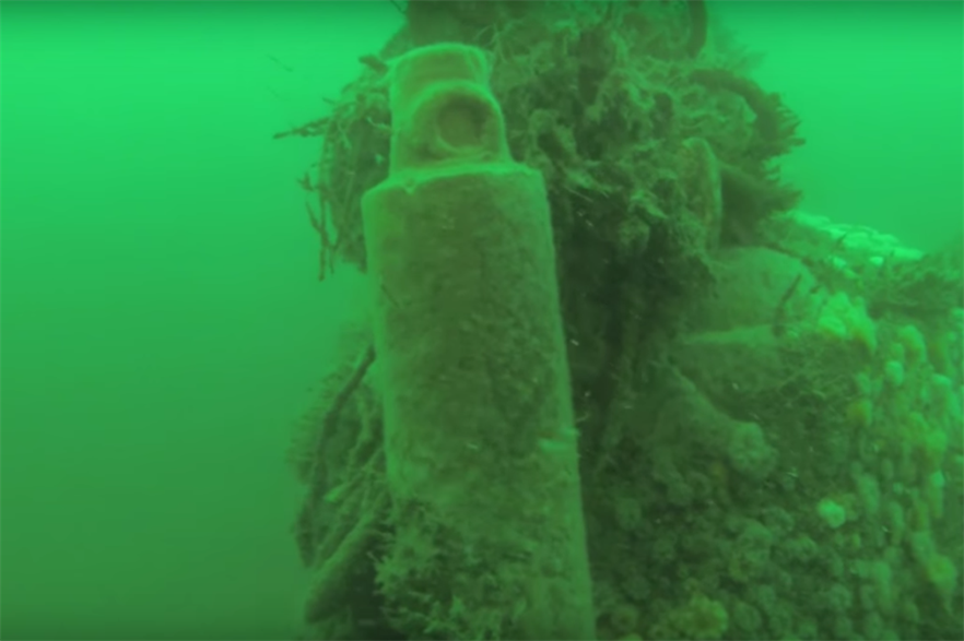 Video footage of the wreckage in the East Anglia Zone (credit: Lamlash North Sea Diving)
