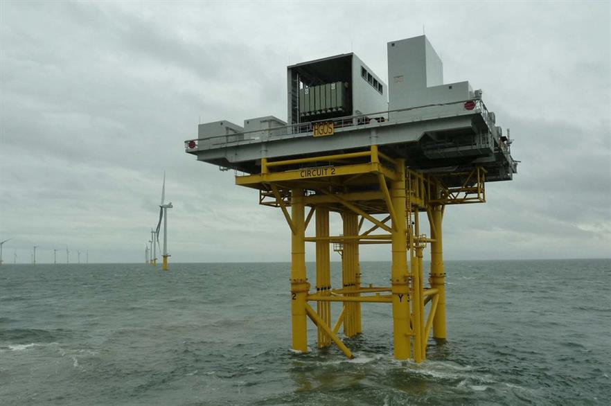 Humber Gateway substation was installed in October
