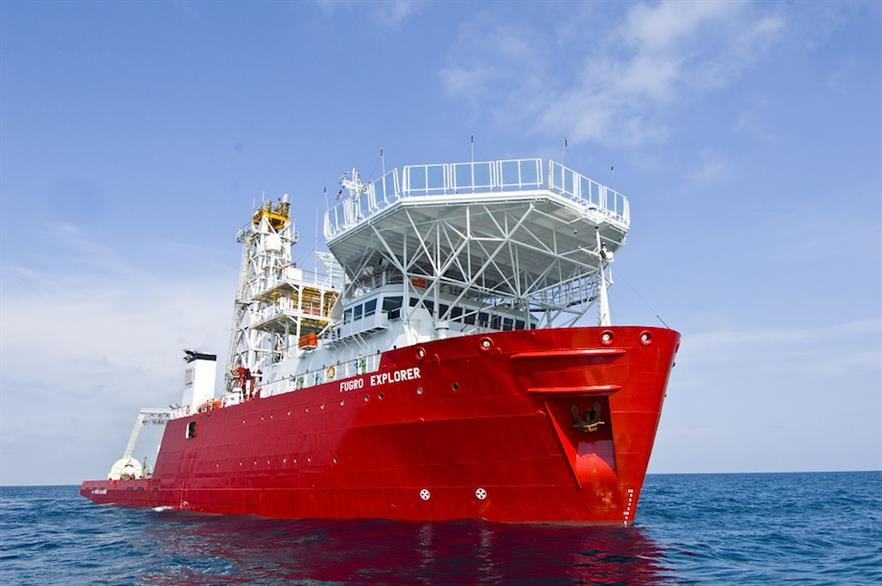 Fugro will dispatch its Explorer vessel as it carries out in-situ testing at the two sites
