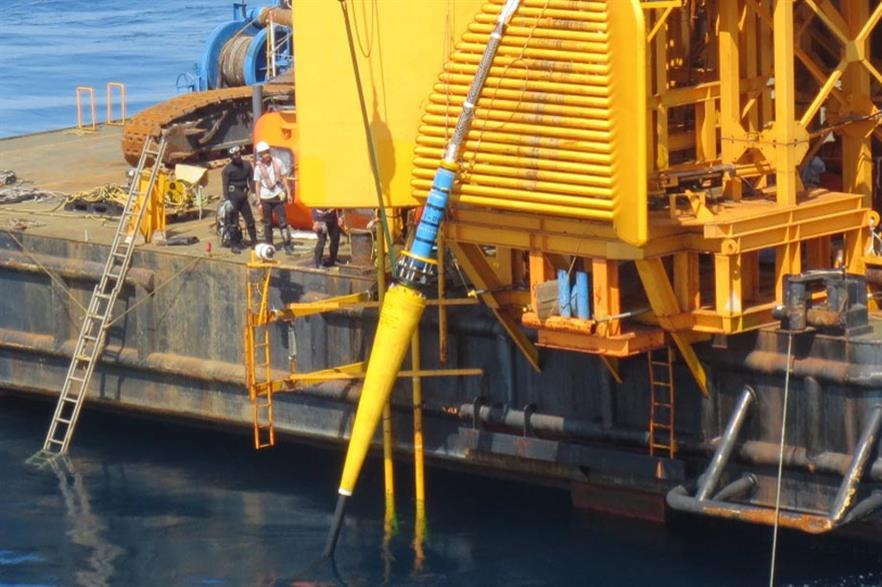 First Subsea has supplied cable connectors for Fukushima's 2MW floating turbine