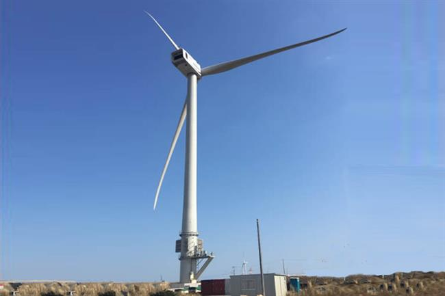 Hitachi installed its 5MW prototype turbine onshore in Japan earlier this year