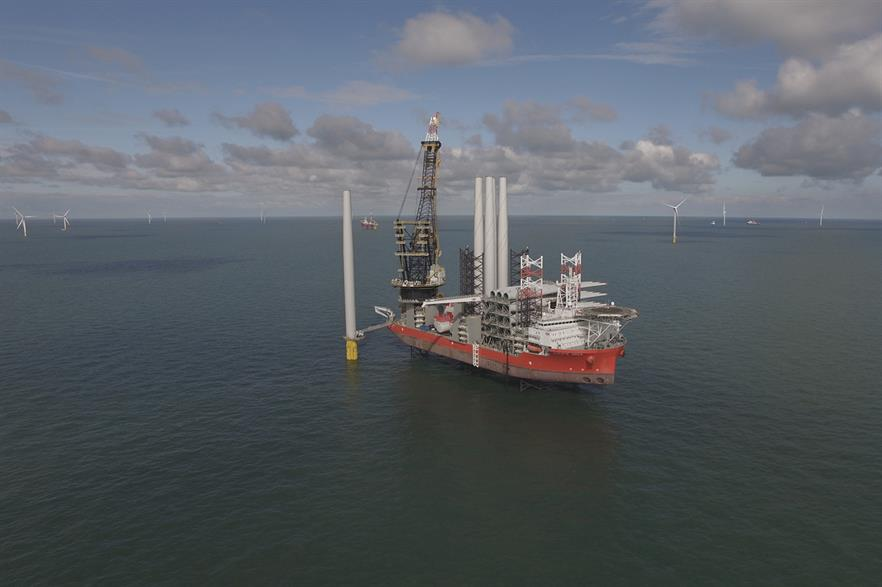 Innogy's Galloper offshore site has exported its first power