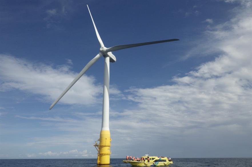 Toda's 2MW floating turbine (pic: Gota City)