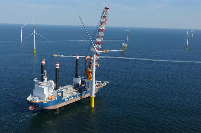 Belgium's offshore wind capacity currently stands at 871MW but is set to almost treble in the next decade. (Pic: Eneco)