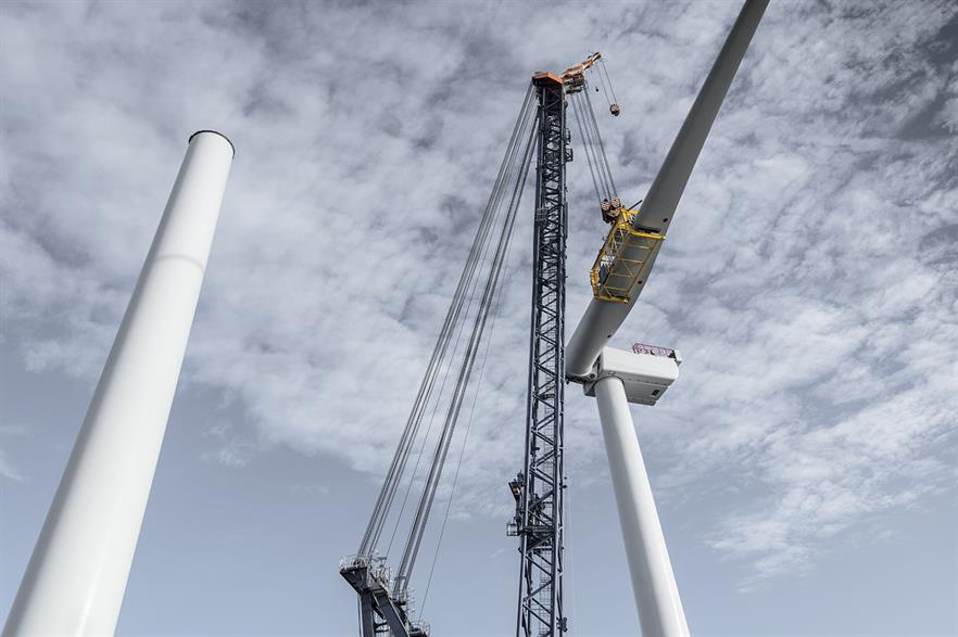 MHI Vestas will supply the 23 turbines to Parkwind's Northwester 2 project