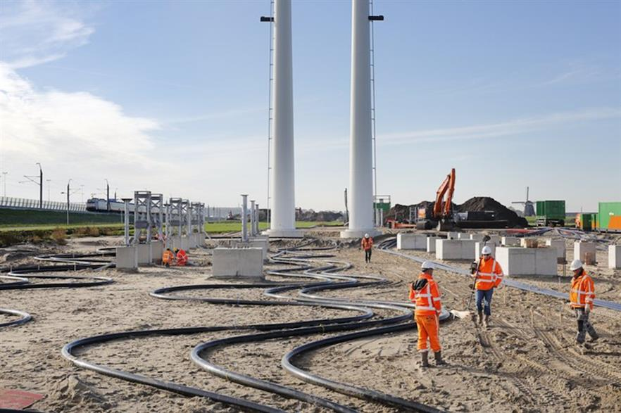 Tennet is currently carrying out work between Vijfhuizen and Bleiswijk