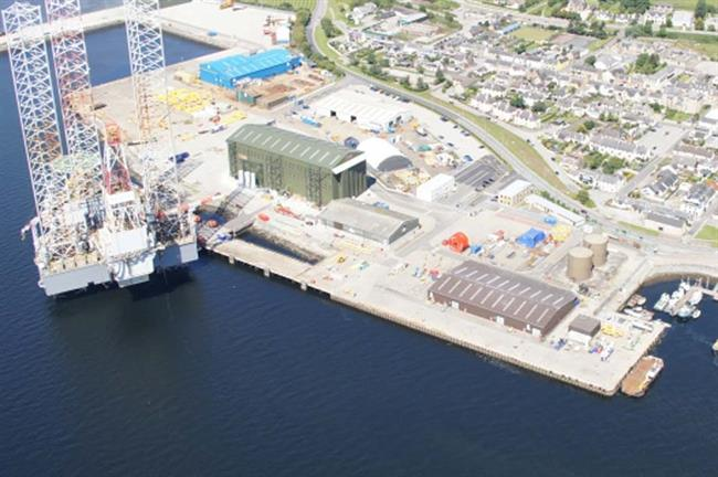 The Invergordon Service Base port facility in Scotland will serve as the base for Moray Firth and Inch Cape