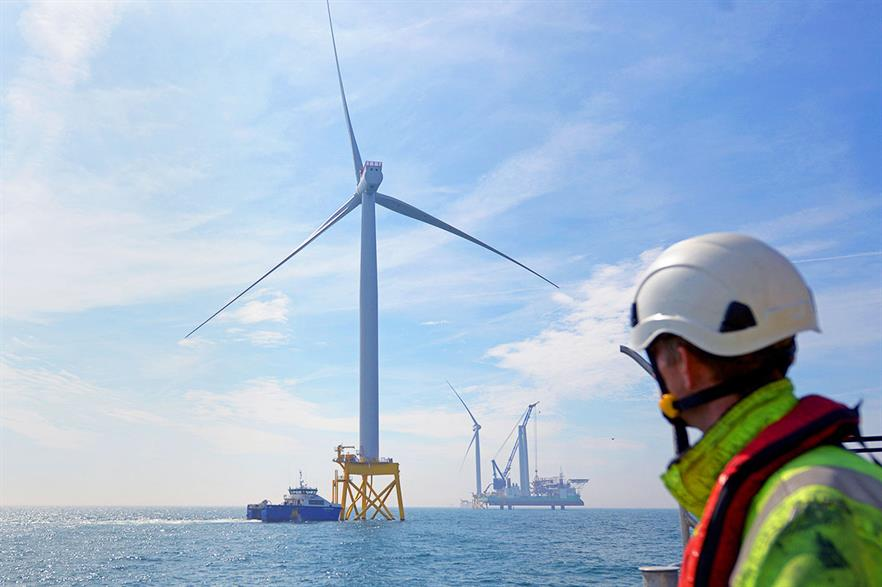 The first turbine was installed at East Anglia One in June 2019 (pic: ScottishPower Renewables)