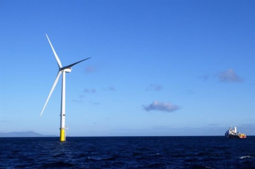 The Walney Extension wind farm is split into two tranches, East and West, and is due online in the second half of 2018