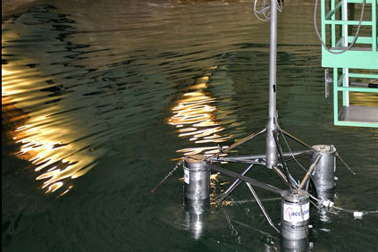 Fraunhofer had previously worked on the Hiprwind floating platform