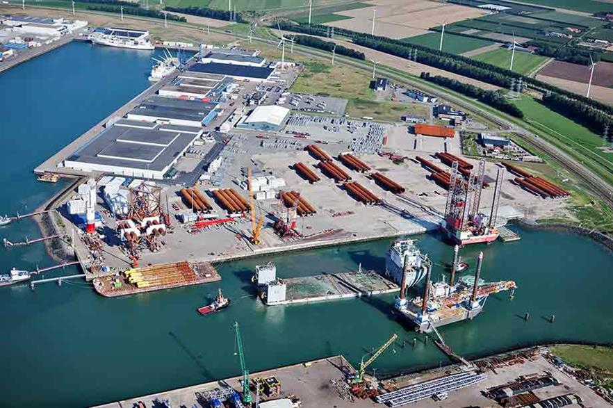 Port of Vlissingen in the Netherlands is well placed to support North Sea wind development