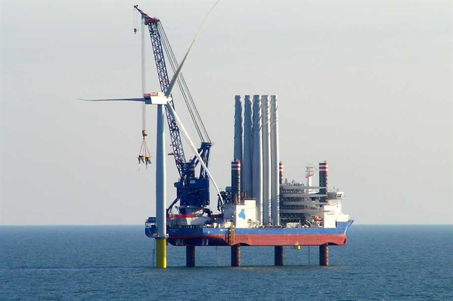 First turbines installed at West of Duddon Sands