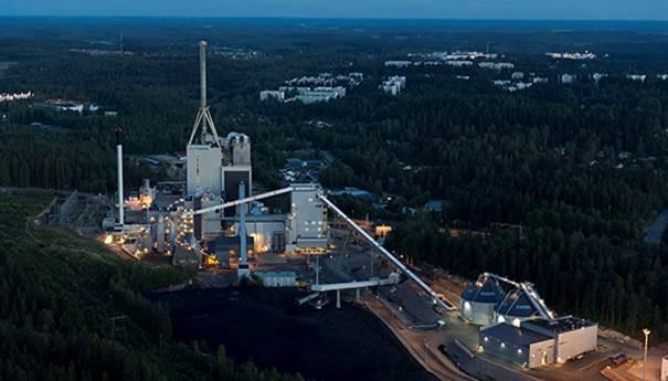 Kymijärvi II power plant photo Lahti Energia