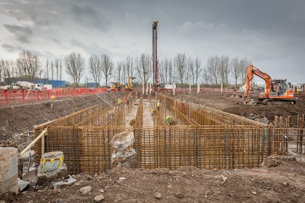 Work at the Avonmouth EfW plant is underway