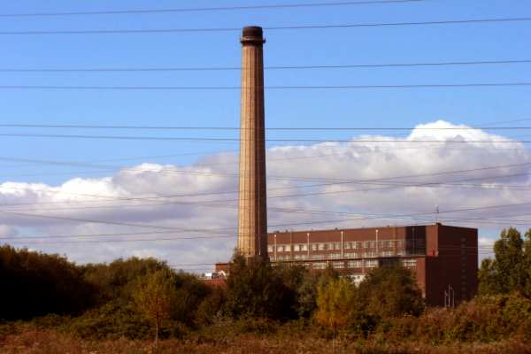 Uskmouth B power station will be converted to biomass and other renewables technologies will be established around the site. Photograph: Robin Drayton CC BY-SA 2.0