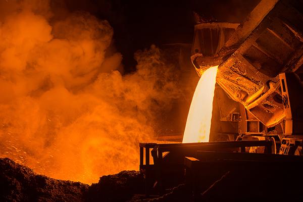 Steel manufacturing Photograph: Oleg Yermolov/123RF