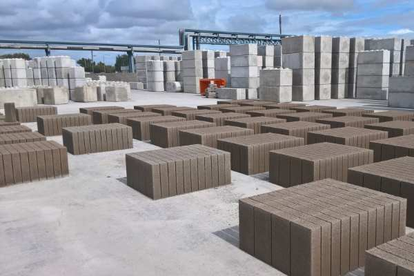 Castle Environmental's blocks are made from air pollution control residues. Image: Castle Environmental