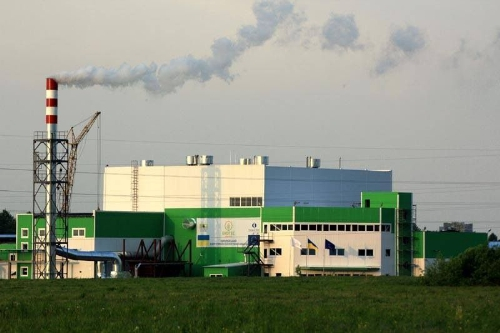 Another biomass plant in Ukraine, which the company worked on with others