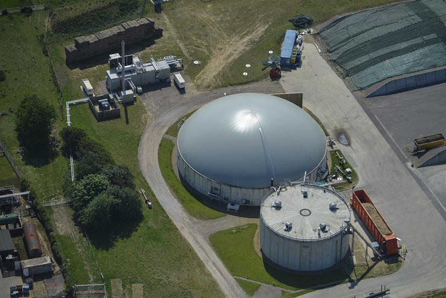 An  AD plant owned by Future Biogas