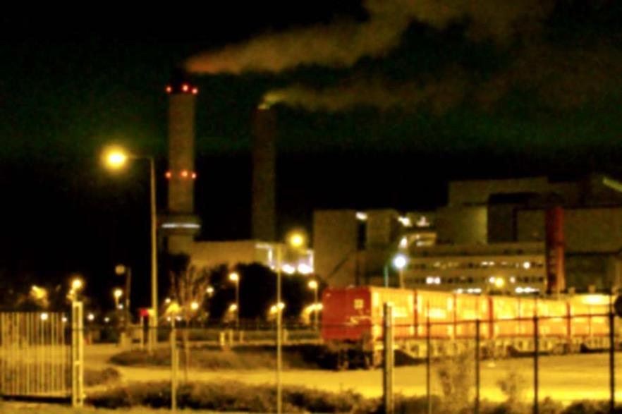 AEB's complex at night