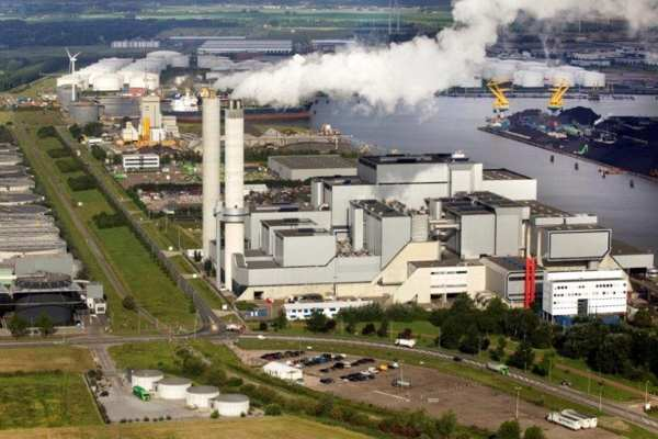 The AEB EfW complex supplies heat and power to Amsterdam, much of it generated from UK waste. Photograph: AEB Amsterdam