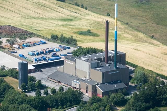 Aars Fjernvarme's heating plant