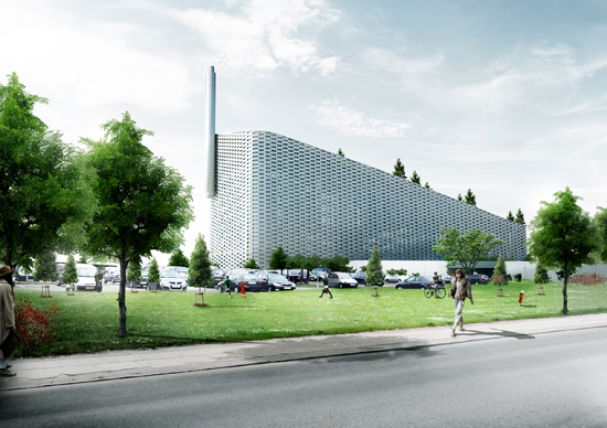 B&W supplied the boiler and related equipment to Denmark's planned  Amager Bakke plant
