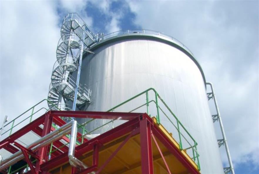 Digester processing biowaste. Picture: Attero Recycling