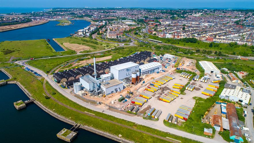 The biomass plant, image copyright Barry Biomass