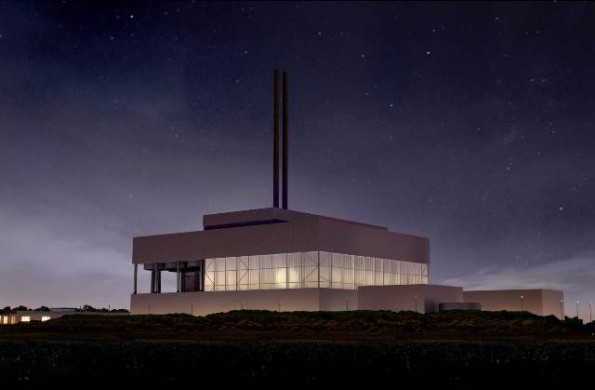 An artist's impression of the Beddington facility