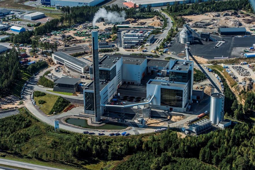 Jönköping Energi's Torsvik EfW plant, copyright jonkopingenergi.se
