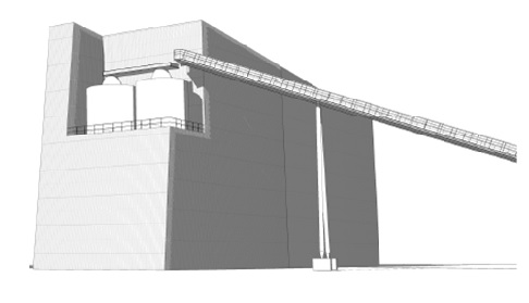 An artist's impression of the Helsingør facility, copyright Andritz