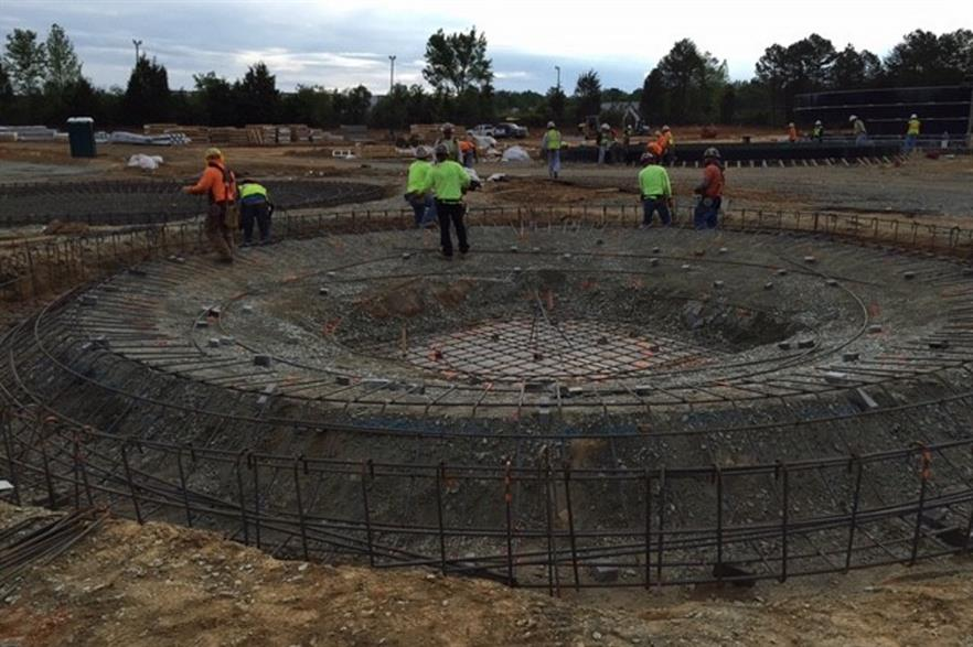 Blue Sphere is currently building a biogas plant in North Carolina