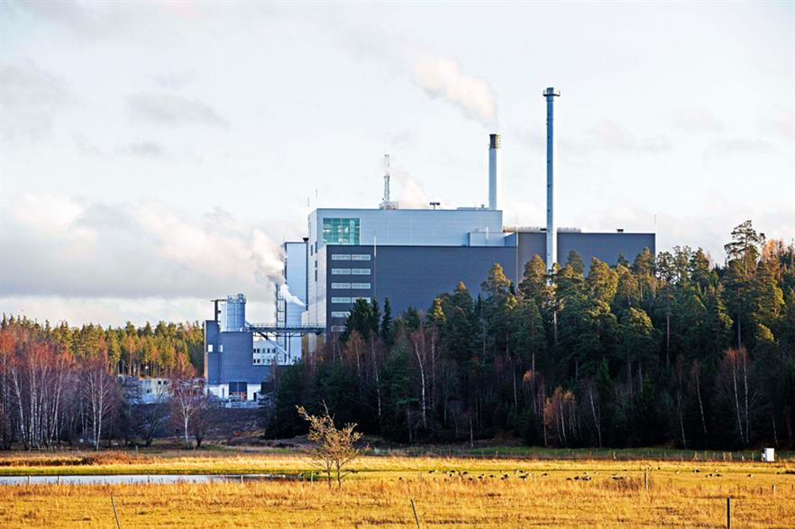 Fortum's new energy from waste unit in Sigtuna, near Stockholm