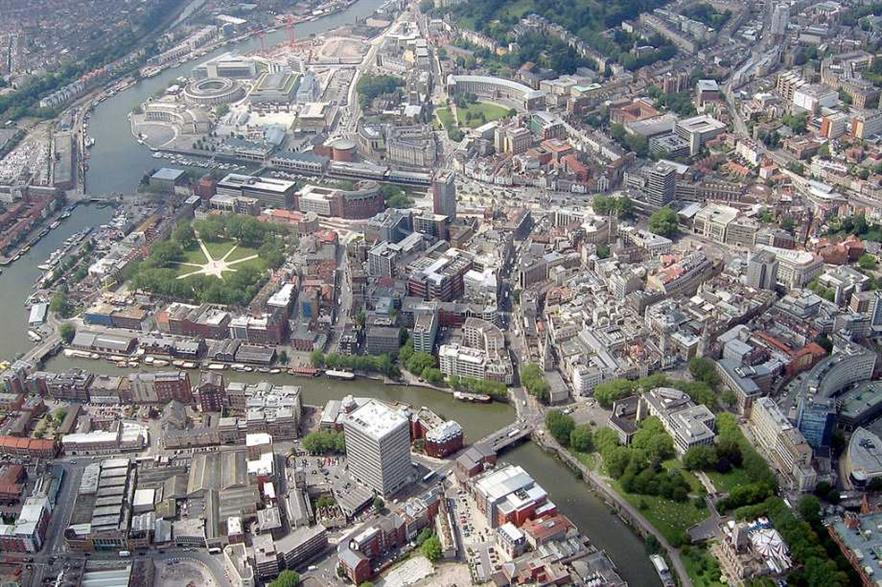 The city of Bristol. Credit: William Avery