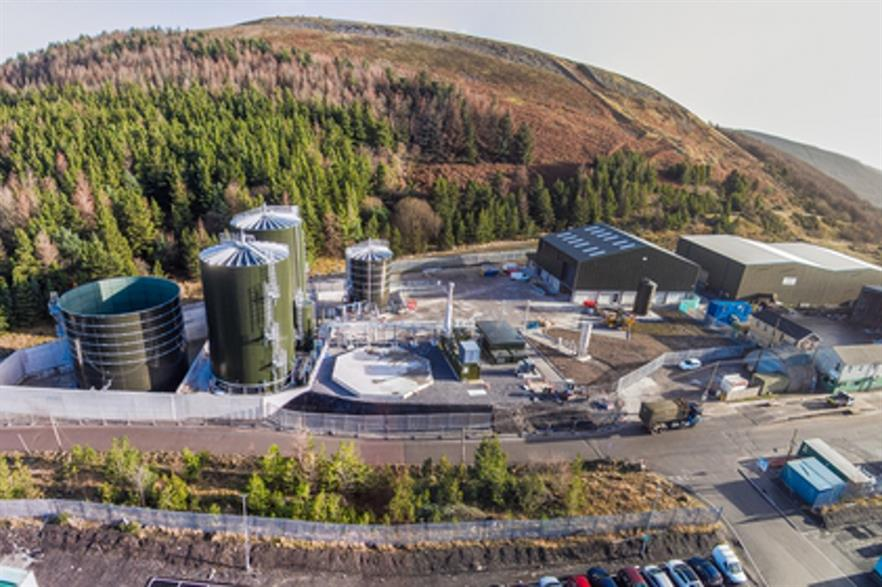 Biogen's Bryn Pica plant is the UK's 400th biogas installation