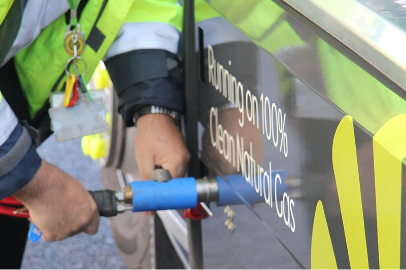 CNG Fuels is responding to demand for transport biogas by opening more refuelling stations. Photograph: CNG Fuels