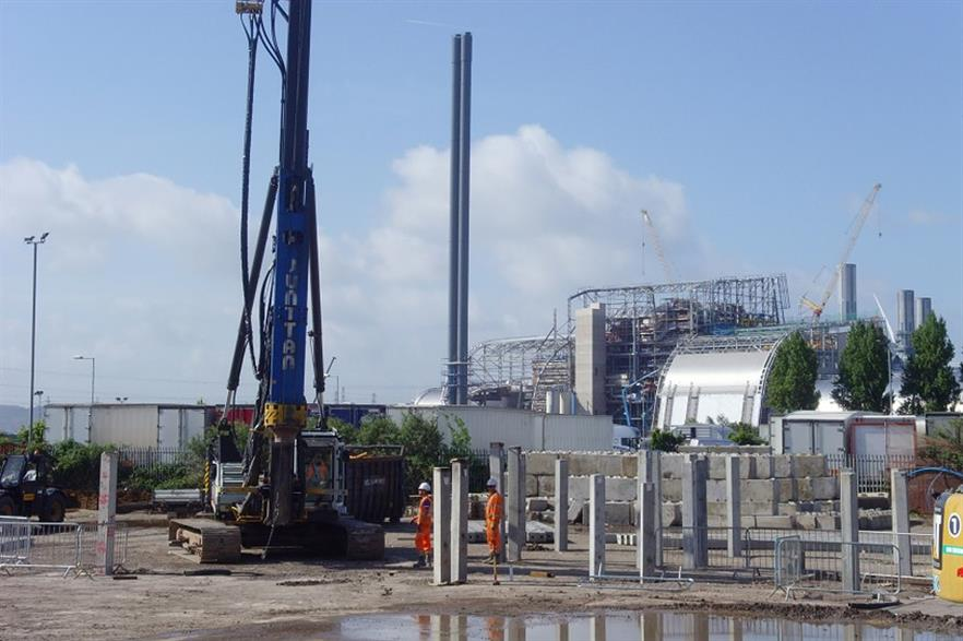 Work has stsrted on Carbon 8's new ash treatment plant near Bristol