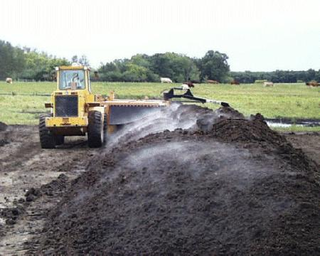Manure is more likely to be incinerated
