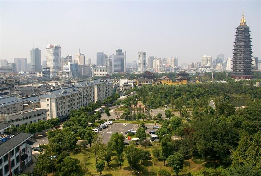 Changzhou city. Credit CC BY-SA 3.0 Jakub Hałun