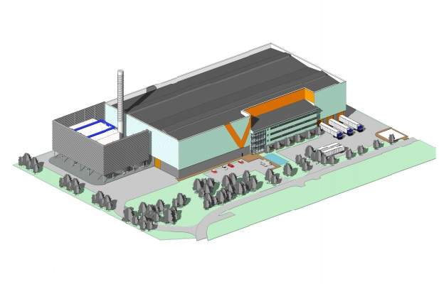 An artist's impression of the new-look facility