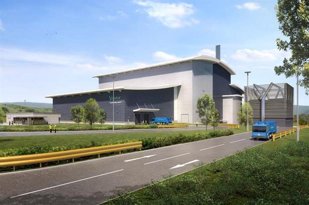 An artist's impression of the Dunbar EfW facility